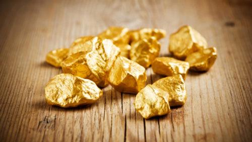 Самородки золота